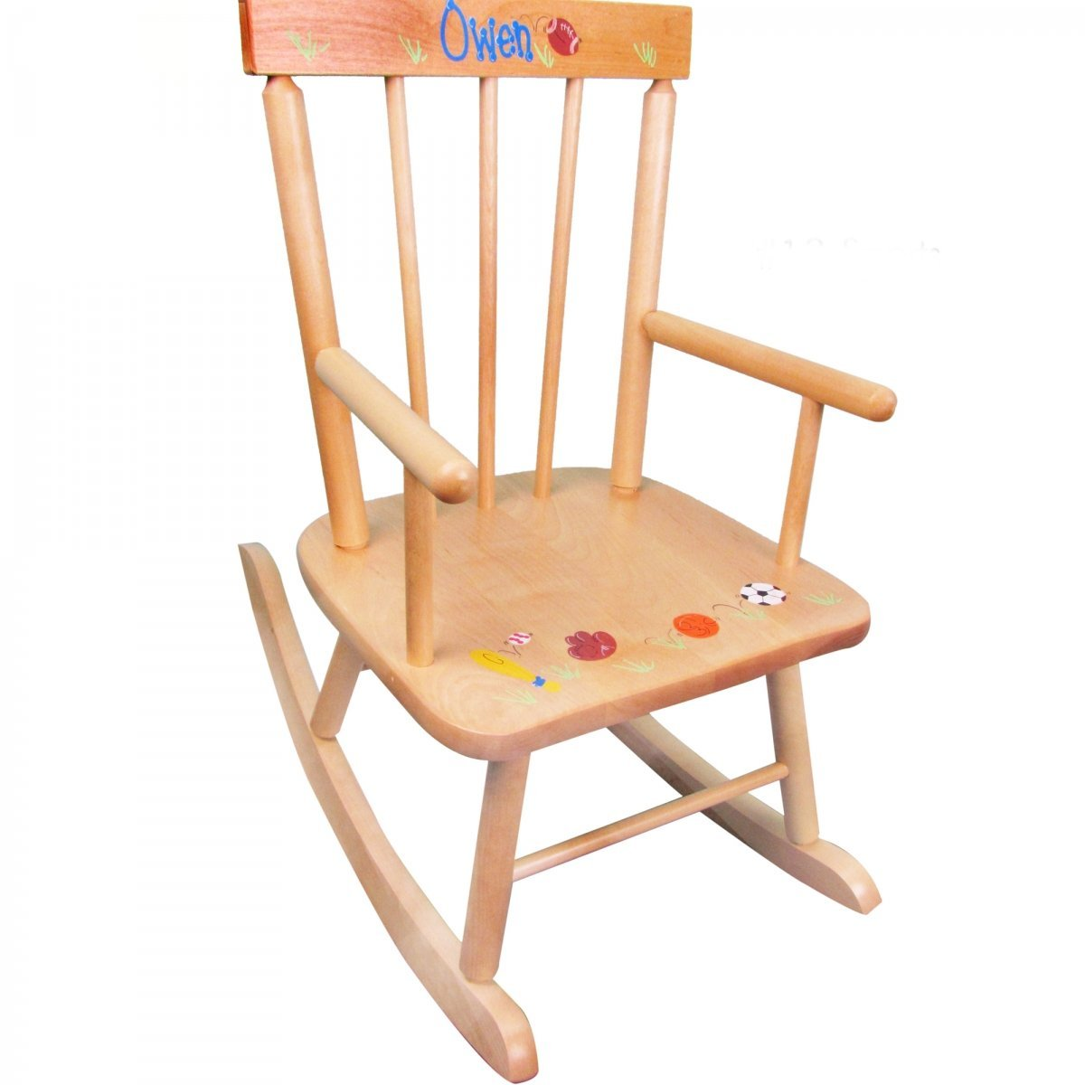 Image of: New Childrens Rocking Chair