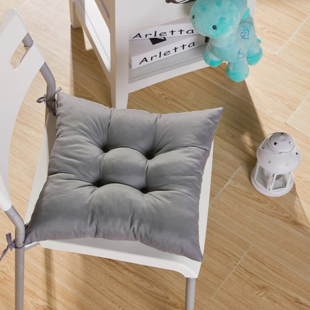 Image of: New Dining Chair Cushions with Ties