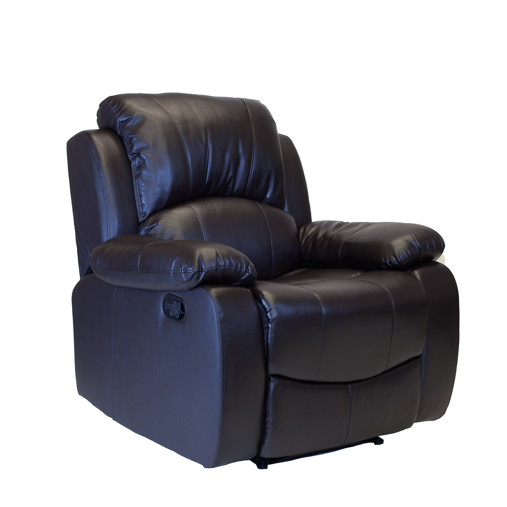 Image of: New Leather Recliner Chair