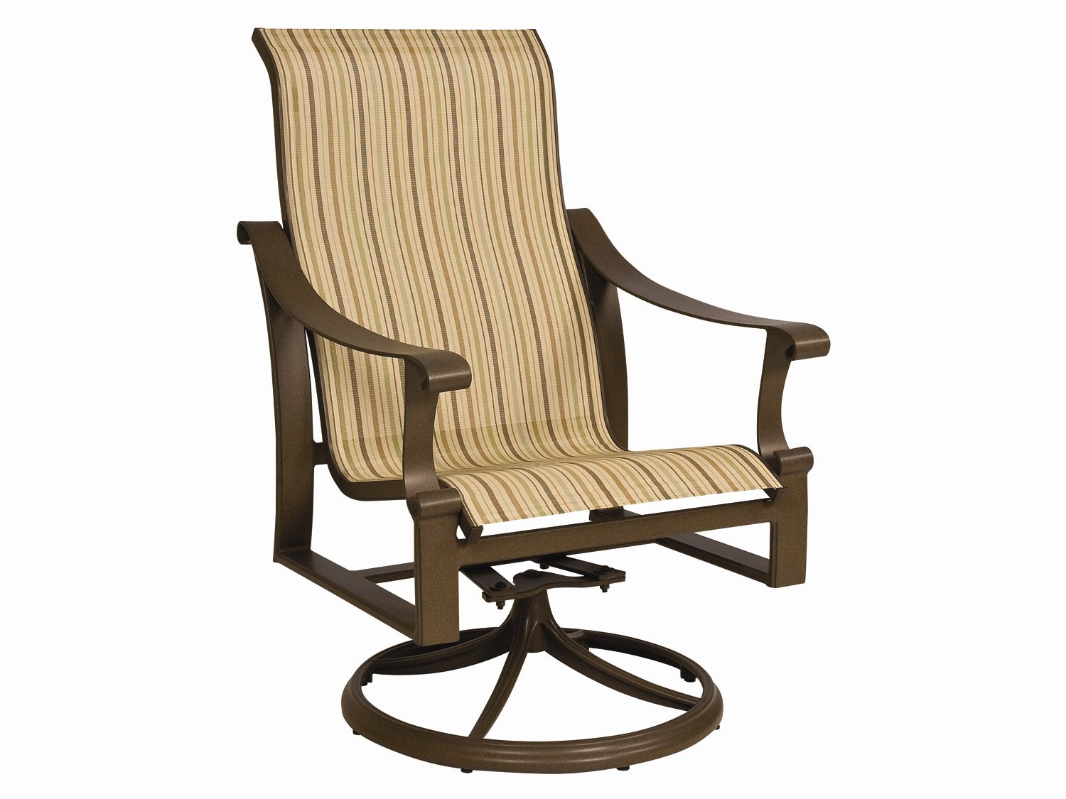 Image of: New Patio Sling Chairs