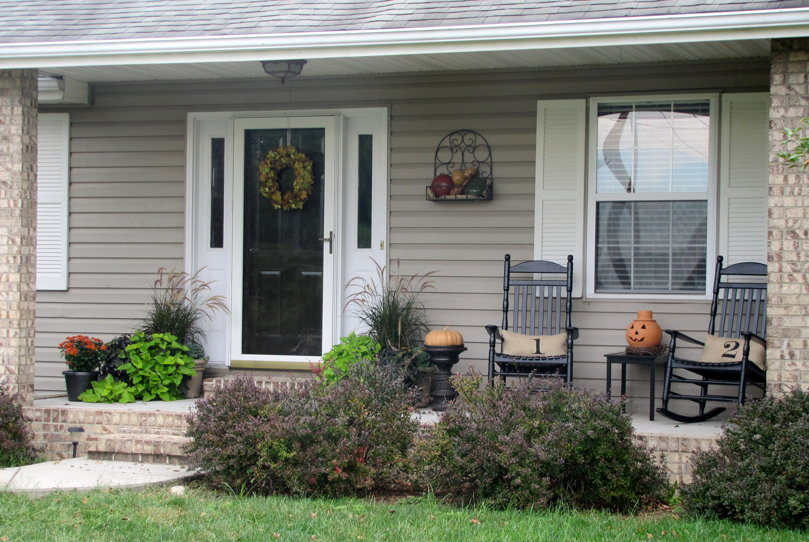Image of: Nice Front Porch Rocking Chairs