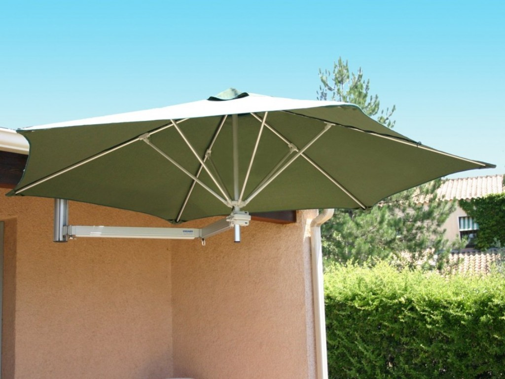 Image of: Offset Patio Umbrellas Model