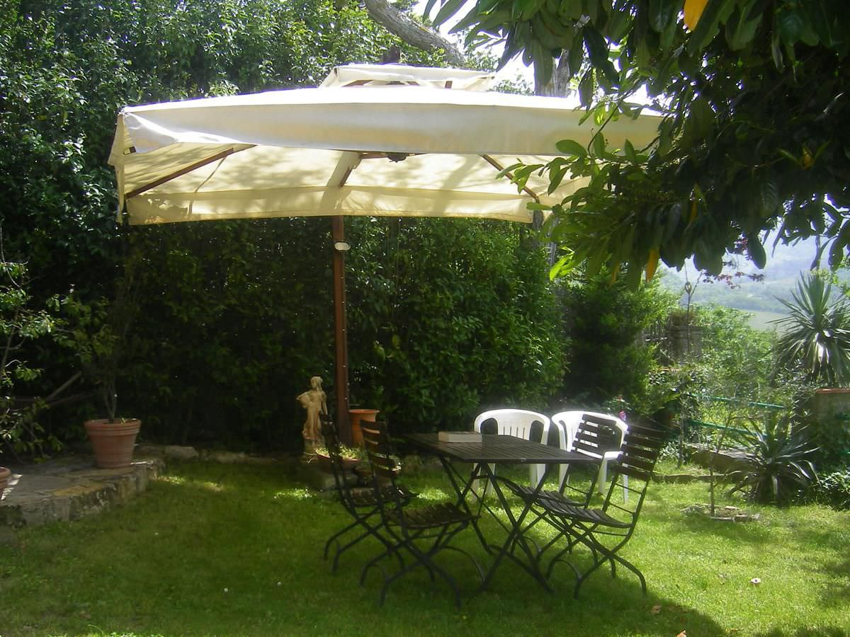 Image of: Offset Patio Umbrellas Style