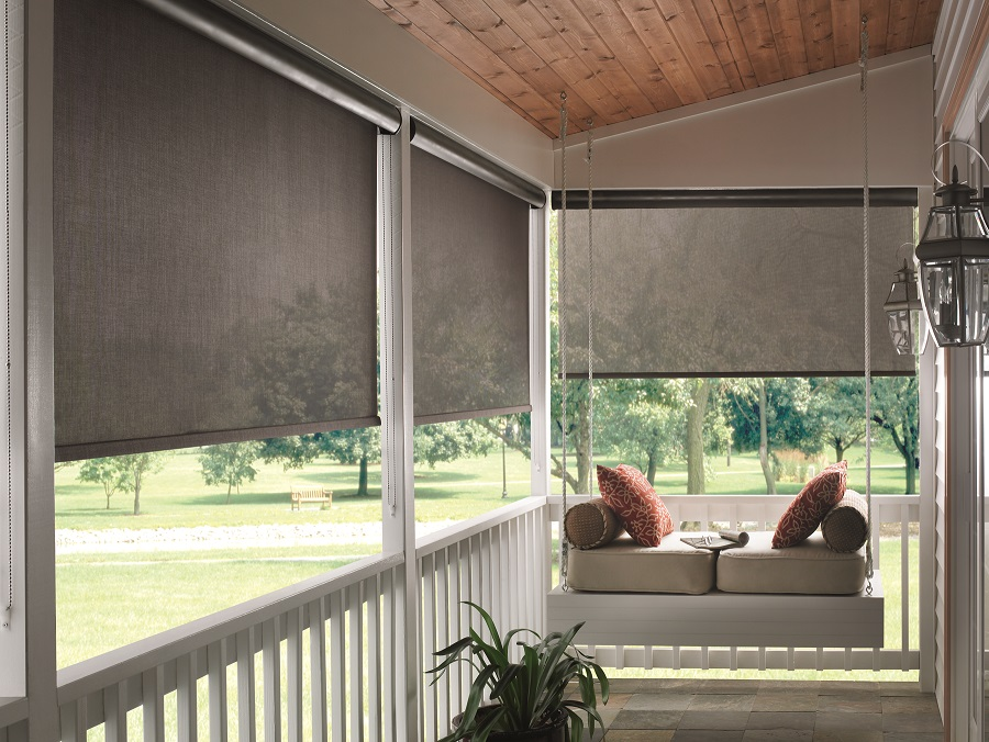 Image of: Outdoor Blinds Ideas