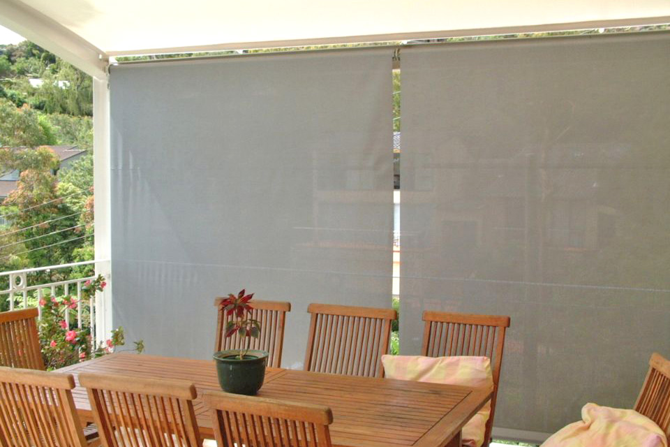 Image of: Outdoor Blinds for Home
