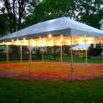 Outdoor Canopy Tent Decor