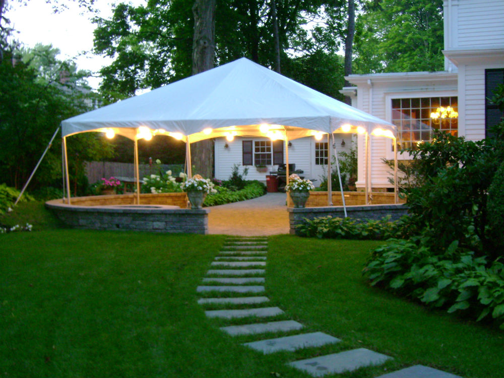 Image of: Outdoor Canopy Tent Designs