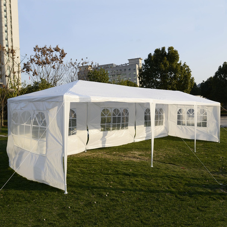 Image of: Outdoor Canopy Tent Party