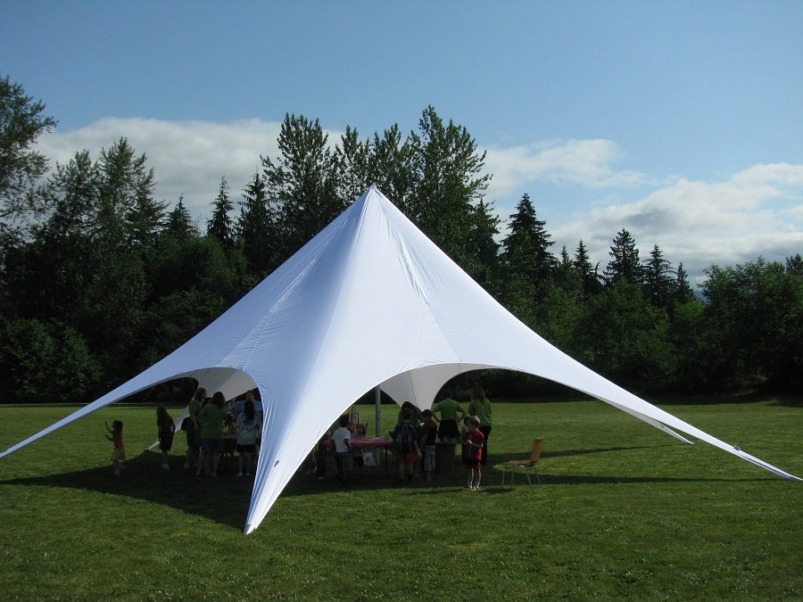 Outdoor Canopy Tent Shapes