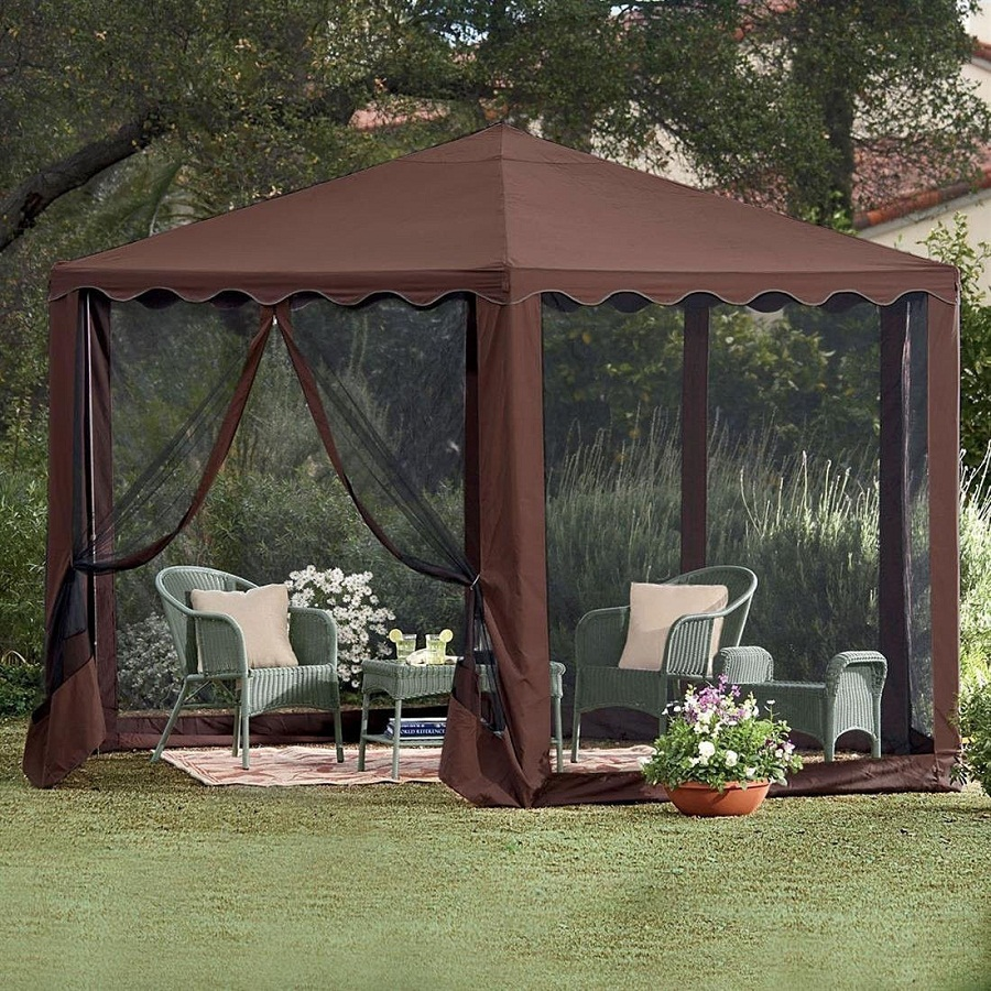 Image of: Outdoor Canopy Tent Type