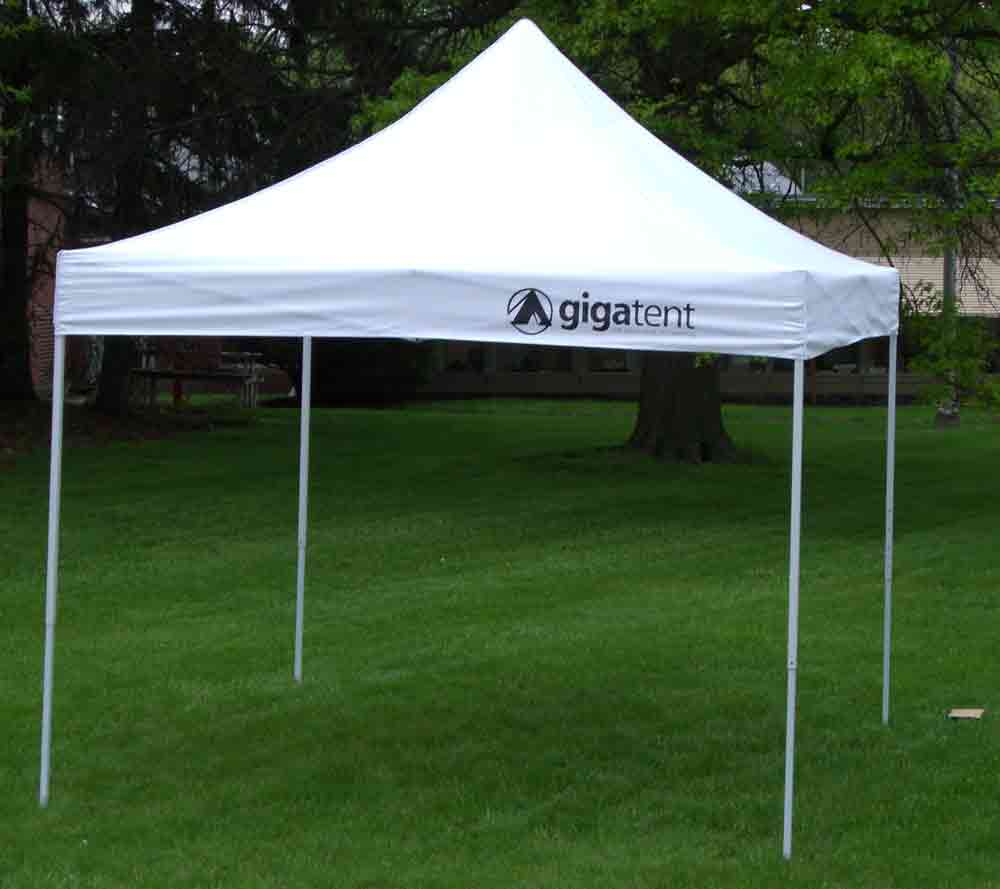 Image of: Outdoor Canopy Tent White