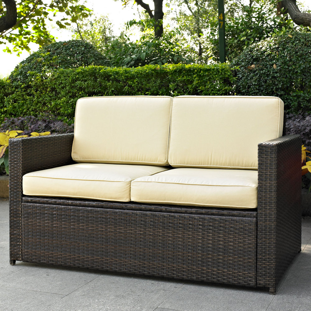 Image of: Outdoor Loveseat Furniture