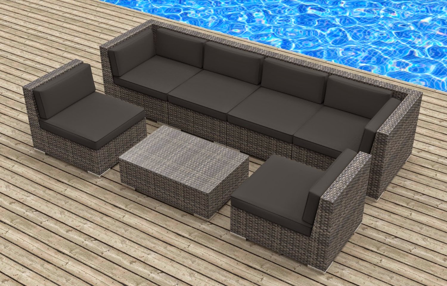 Image of: Outdoor Loveseat Ideas