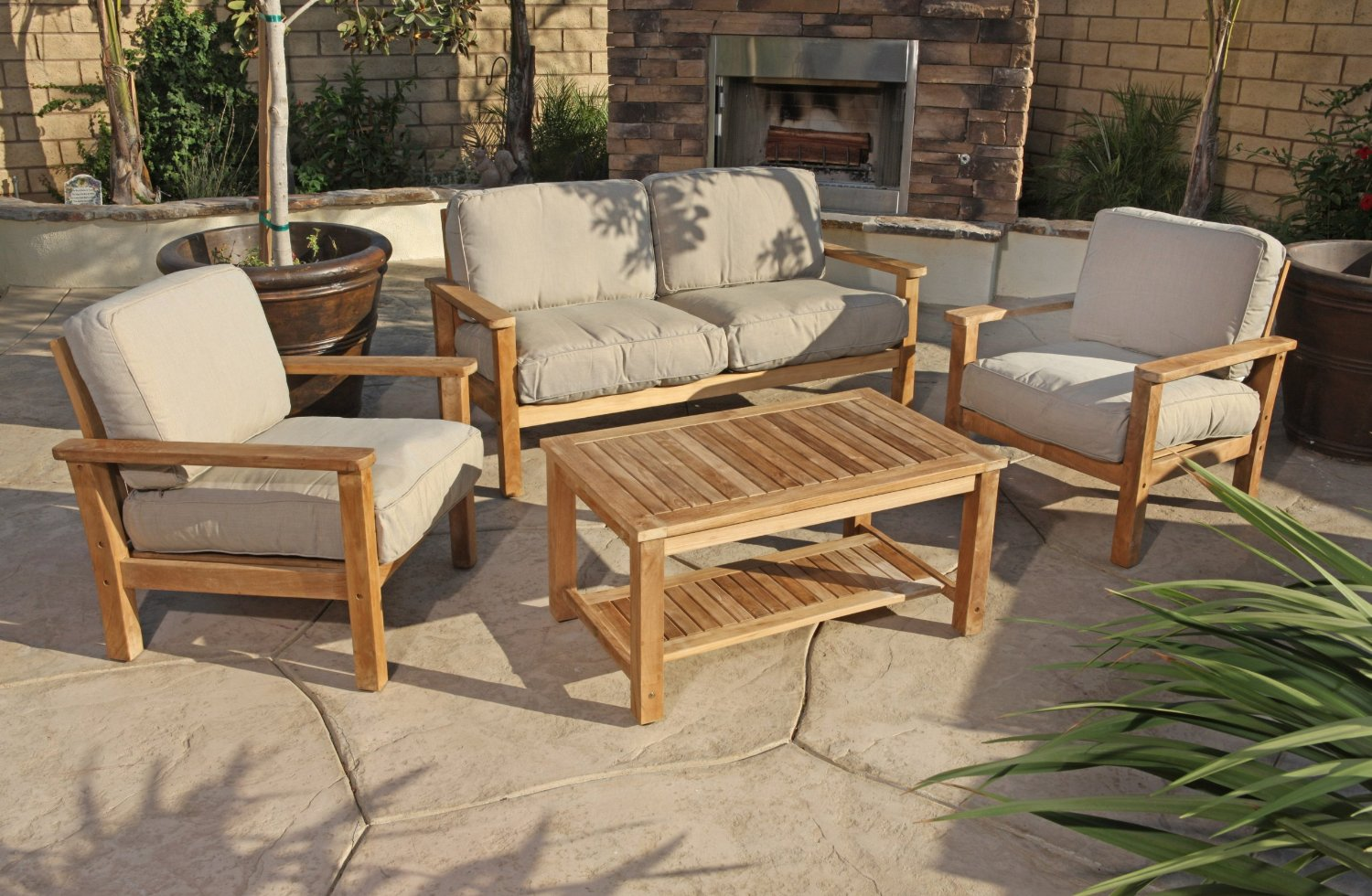 Image of: Outdoor Loveseat Patio