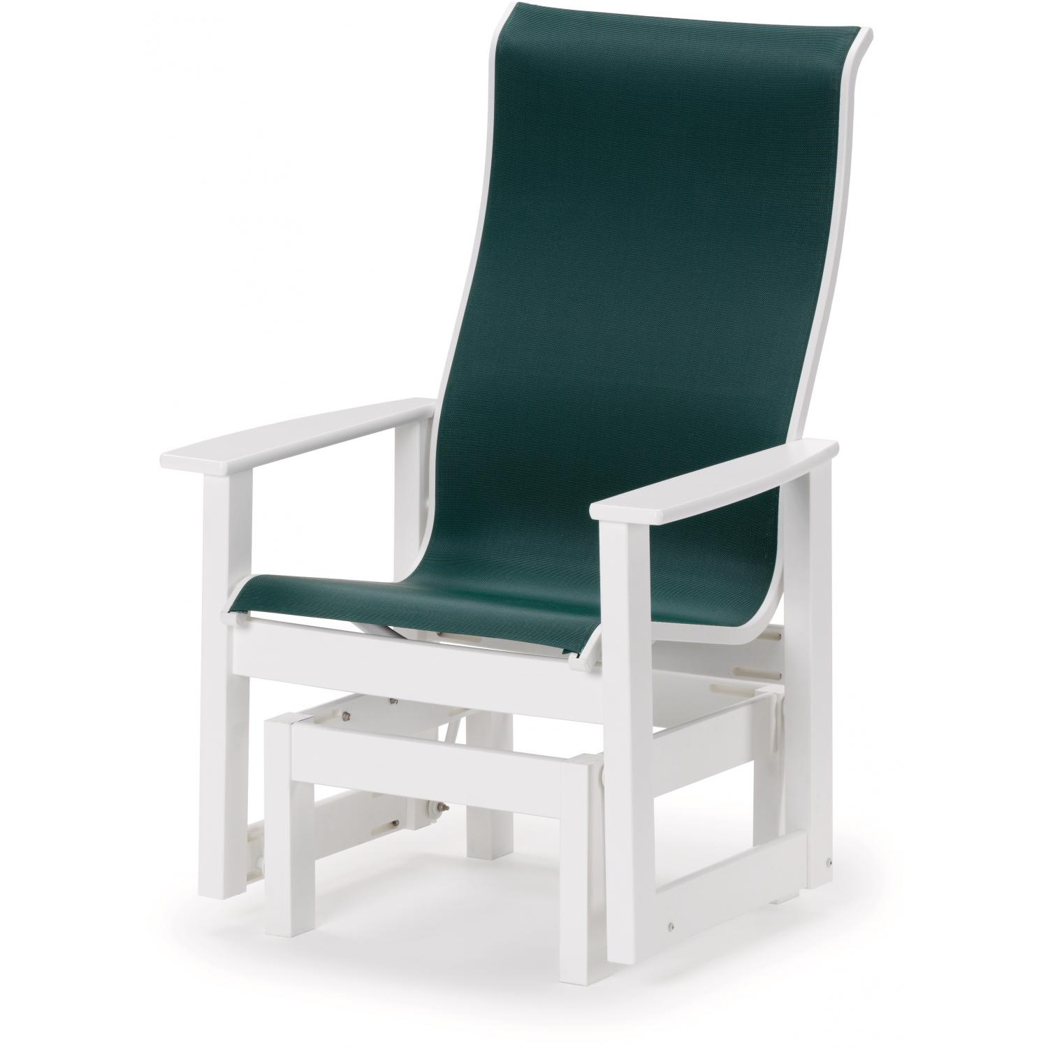 Image of: Patio Glider Chair Design