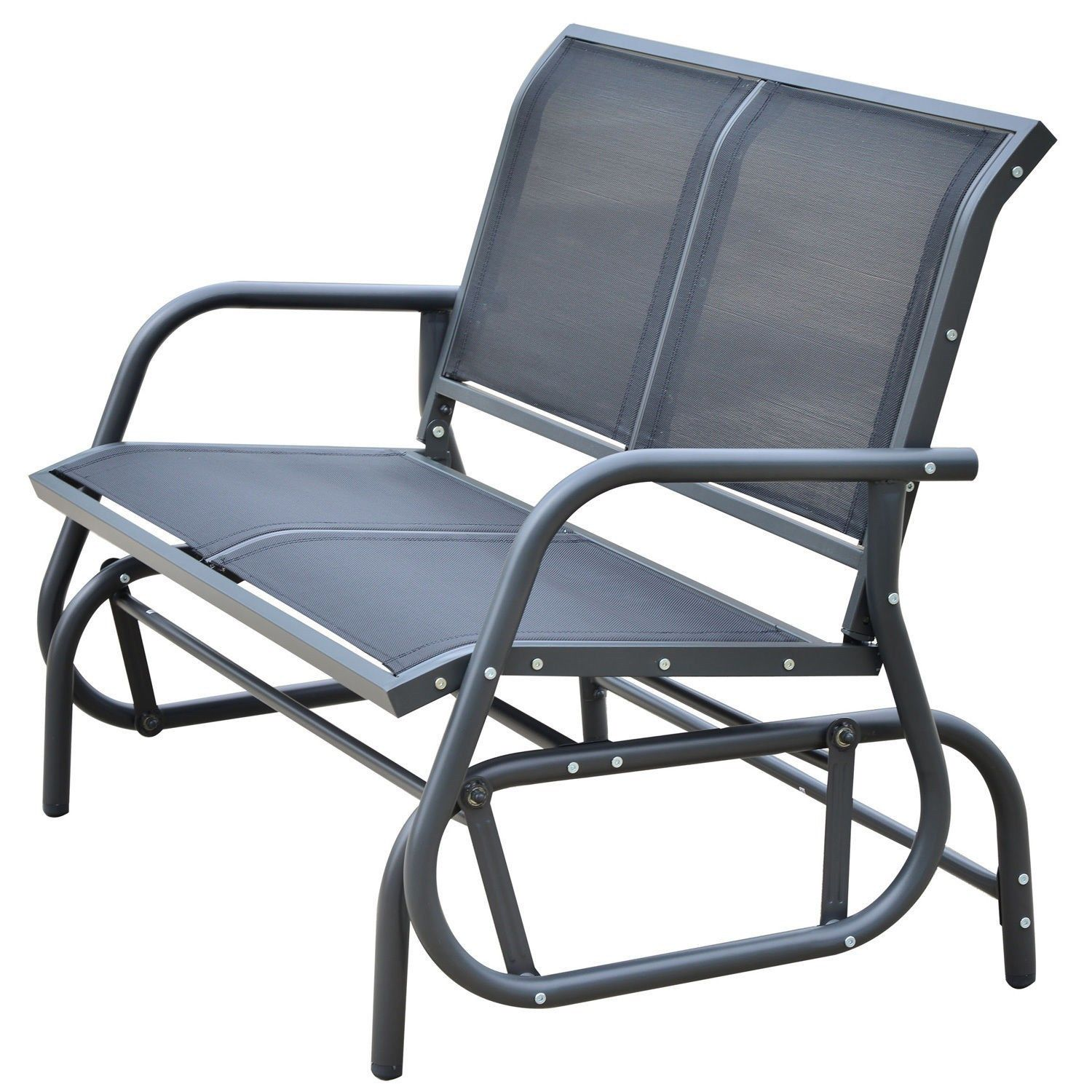 Image of: Patio Glider Chair Style