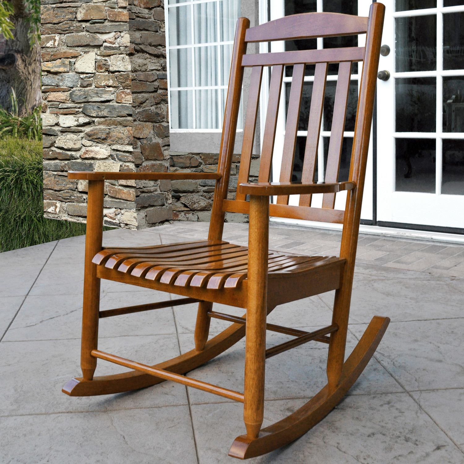 Image of: Patio Porch Rocking Chairs