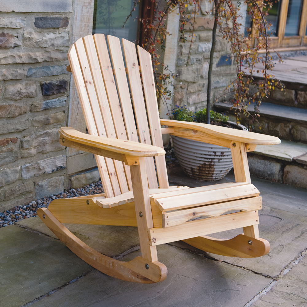 Image of: Patio Rocking Chair Designs