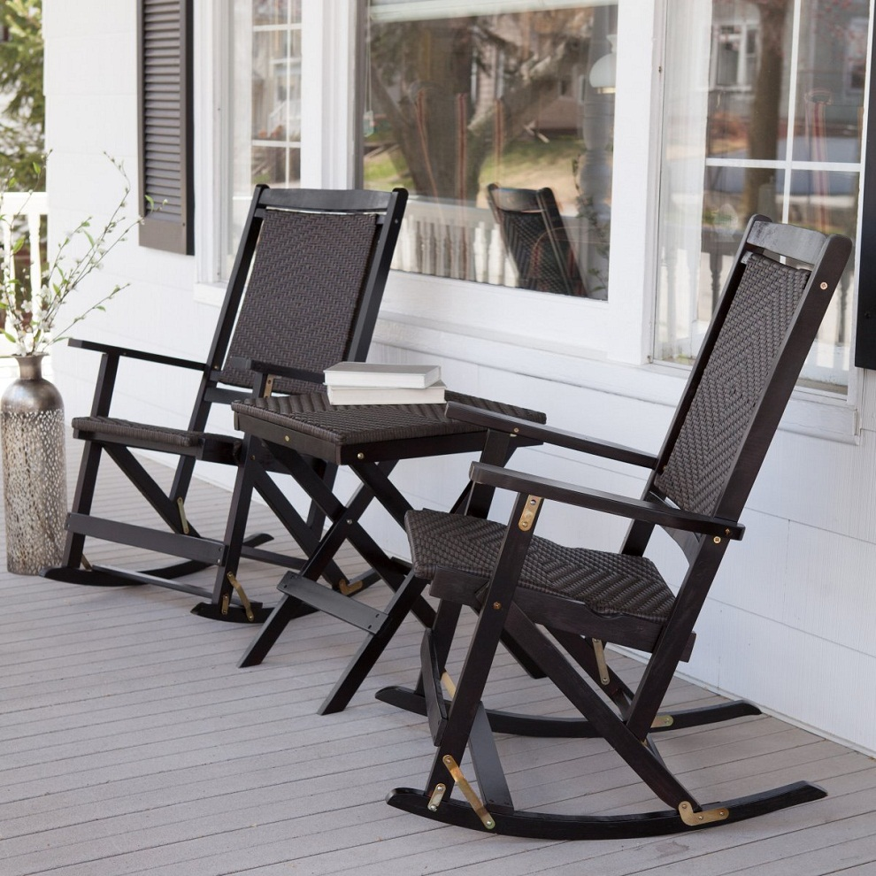 Image of: Patio Rocking Chair Seth