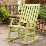 Patio Rocking Chair Wood Paint