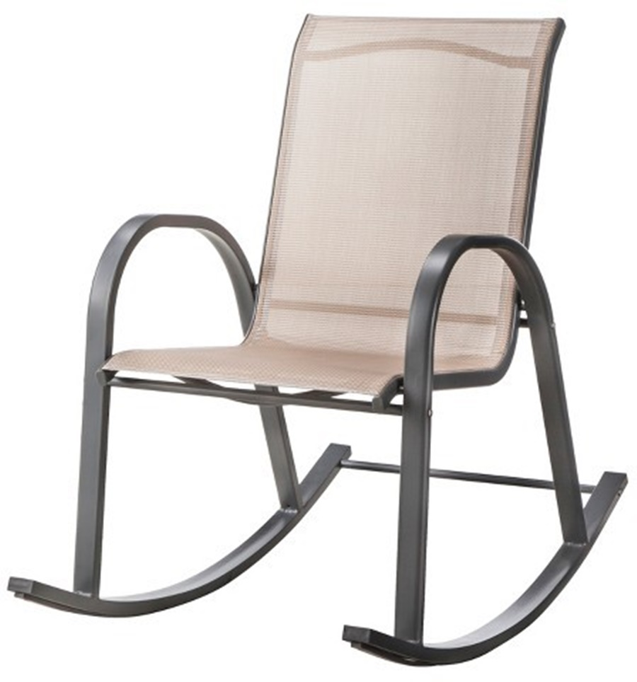 Image of: Patio Rocking Chair