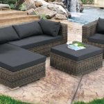 Patio Sectional Furniture Set Famous