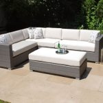 Patio Sectional Gray