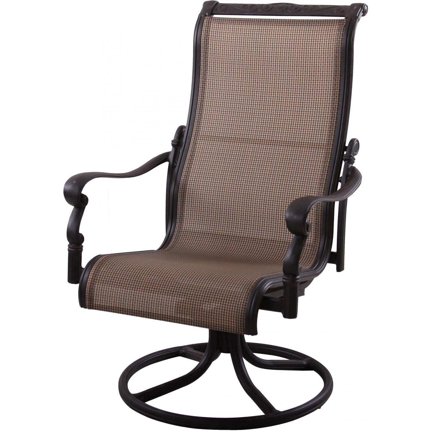 Image of: Patio Sling Chairs Design