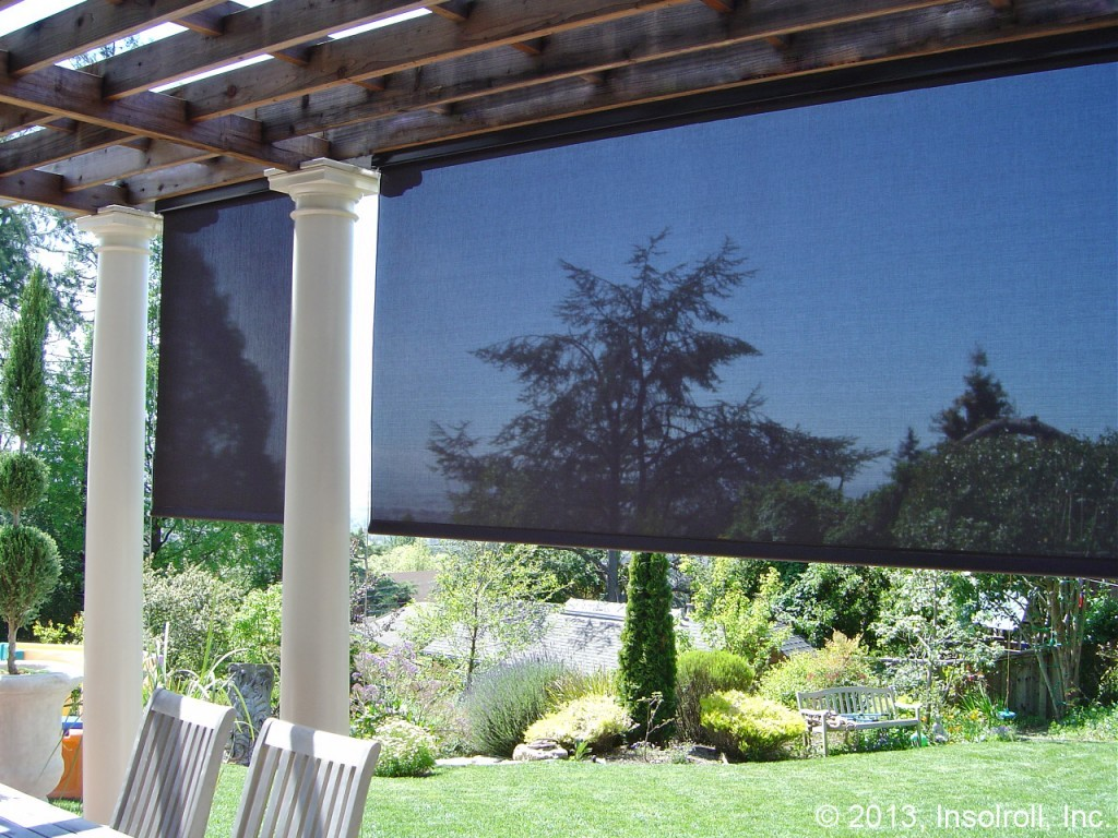 Image of: Patio Sun Shades Design