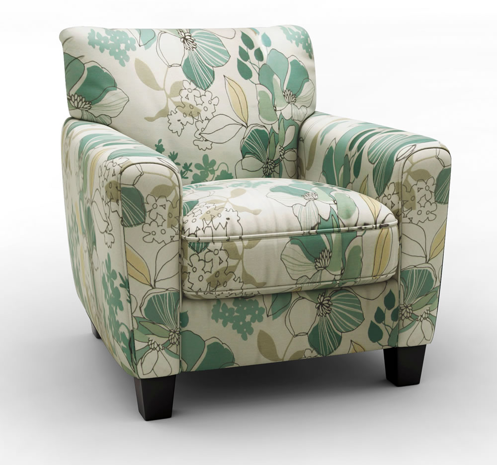 Image of: Patterned Accent Chairs Photo