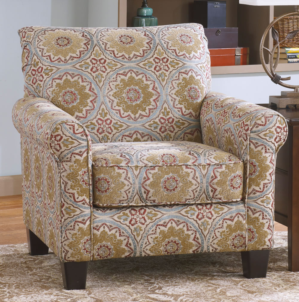 Image of: Patterned Accent Chairs Picture