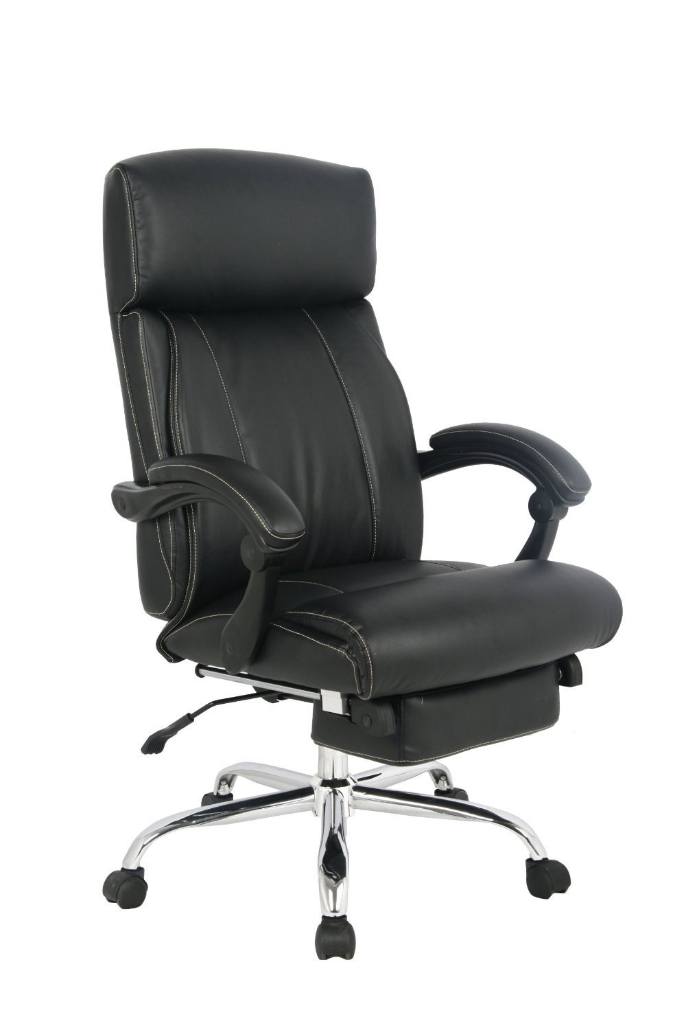 Image of: Photos of Reclining Office Chair With Footrest