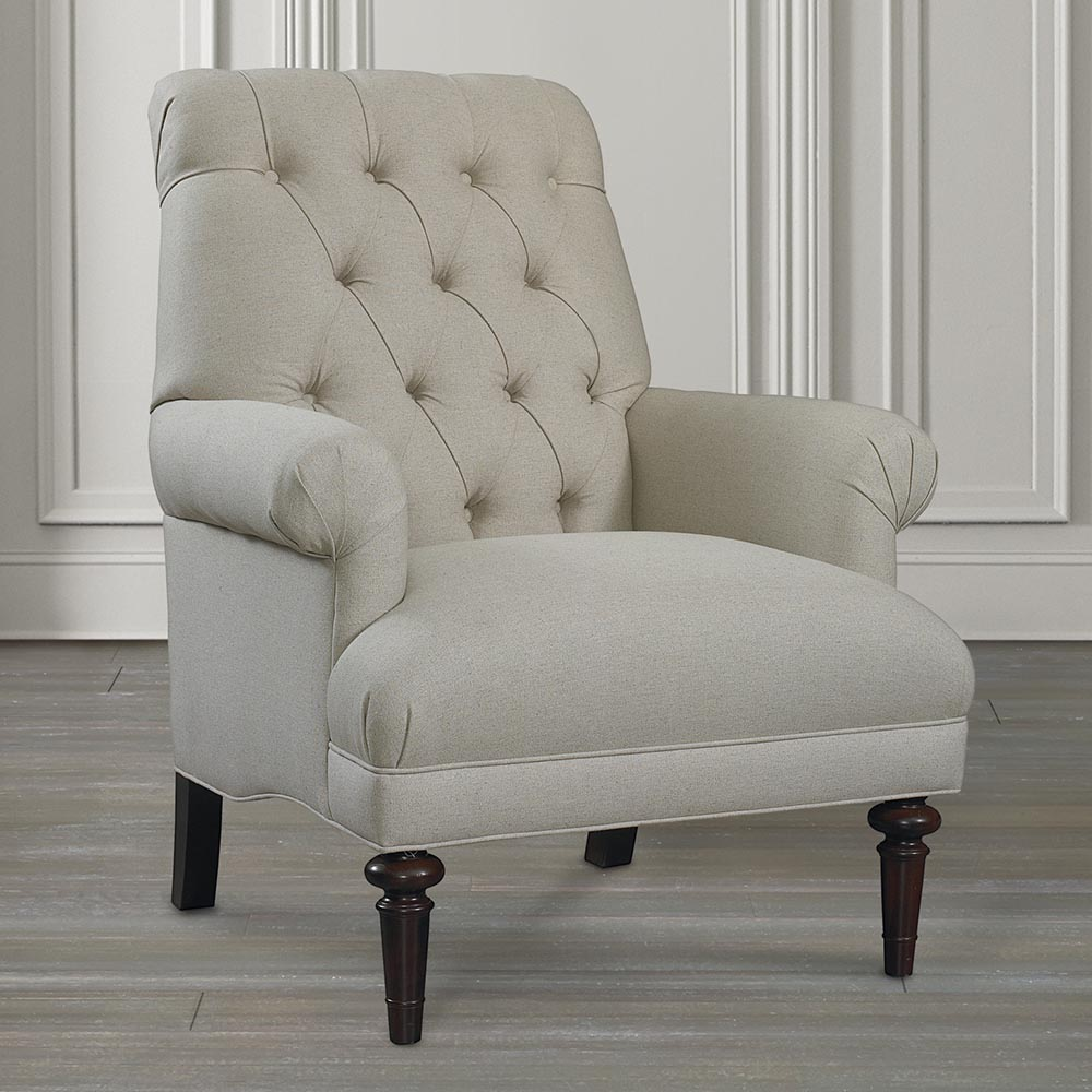 Image of: Photos of Tufted Accent Chair