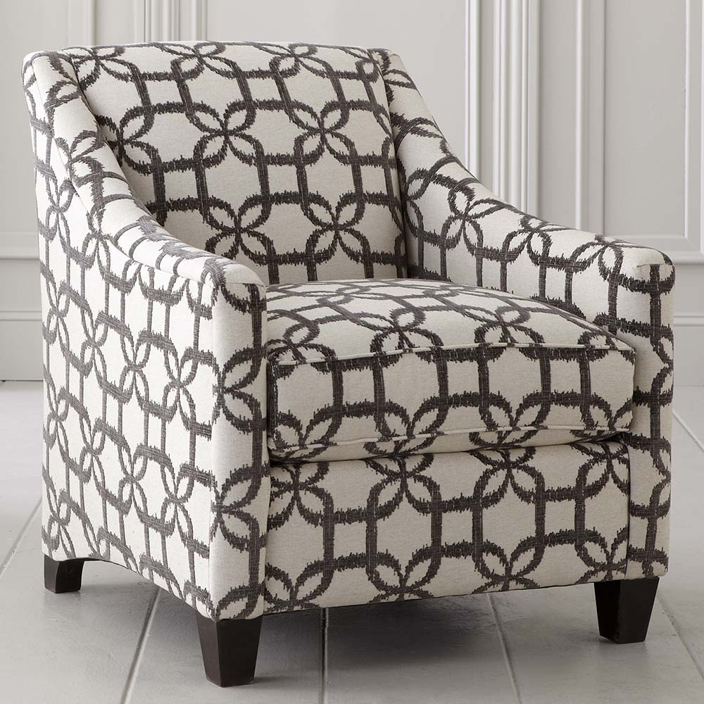 Image of: Picture of Patterned Accent Chairs