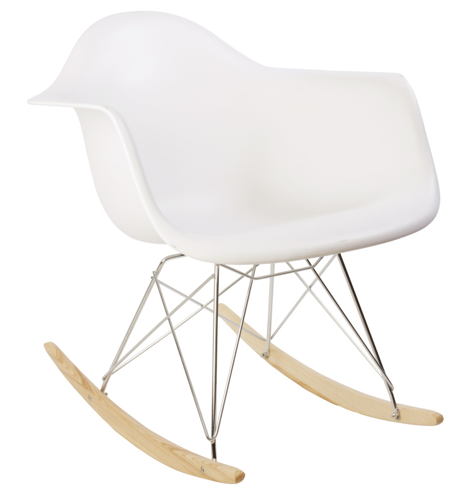 Image of: Plastic Rocking Chair Image