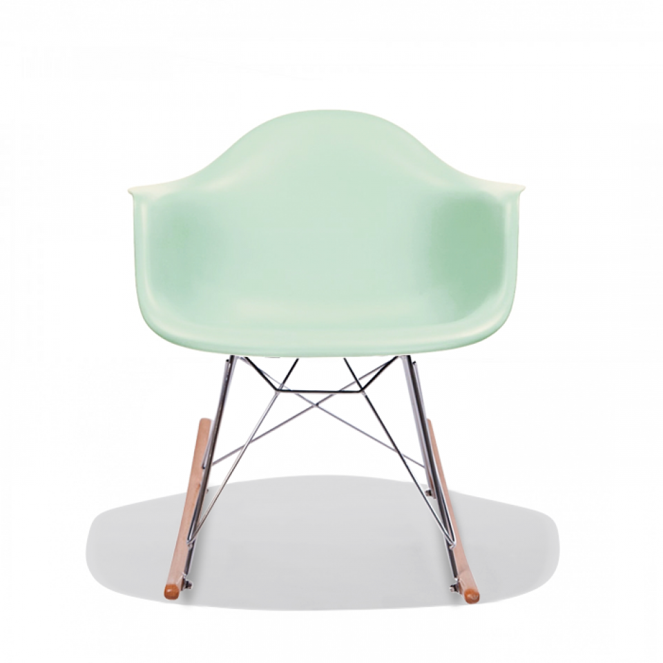Image of: Plastic Rocking Chair Model