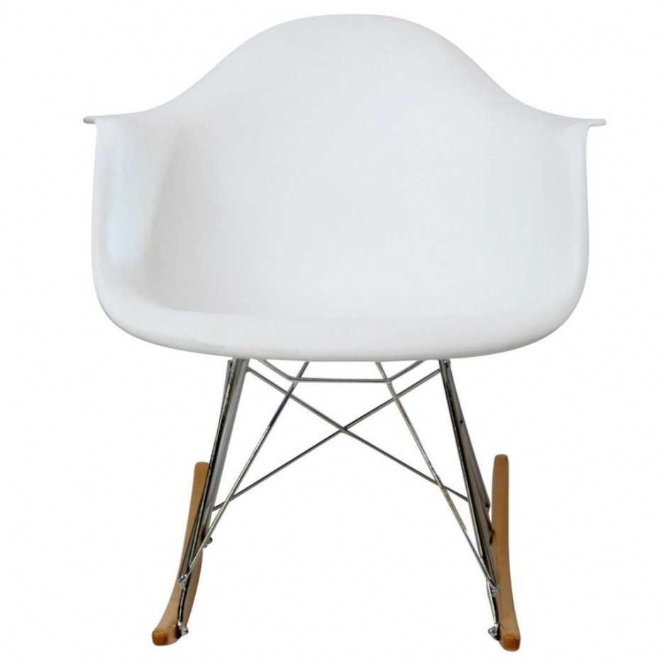 Image of: Plastic Rocking Chair Picture