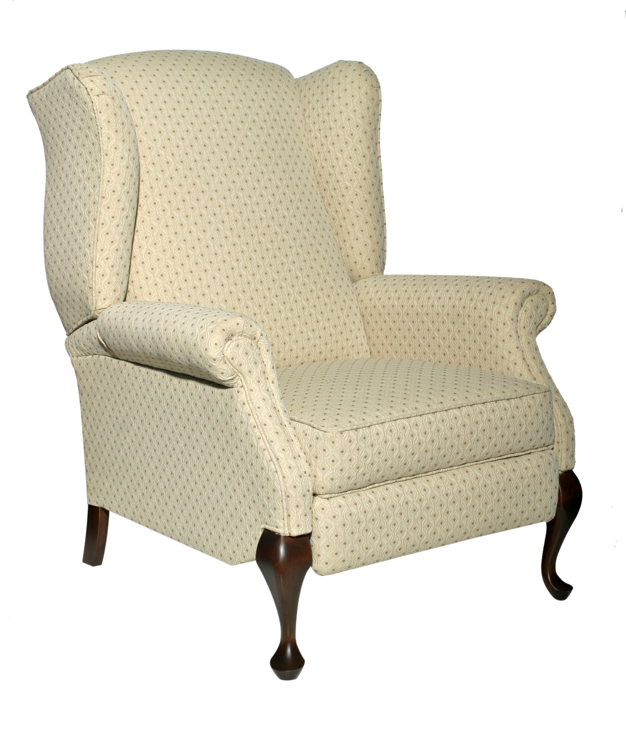 Image of: Polkadot Reclining Accent Chair