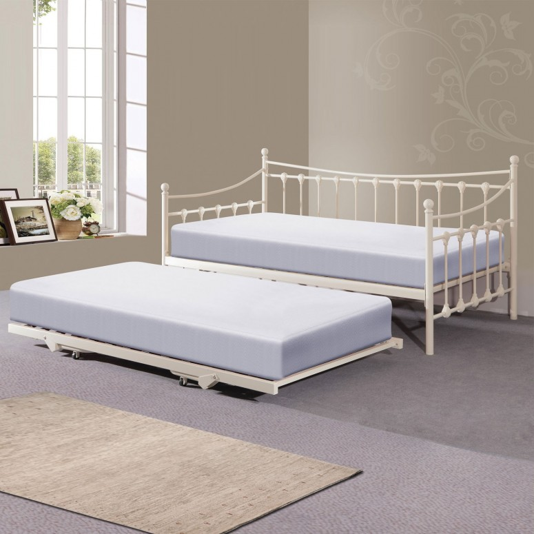 Image of: Pop Up Trundle Bed Ikea