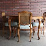 Popular Cane Back Dining Chairs