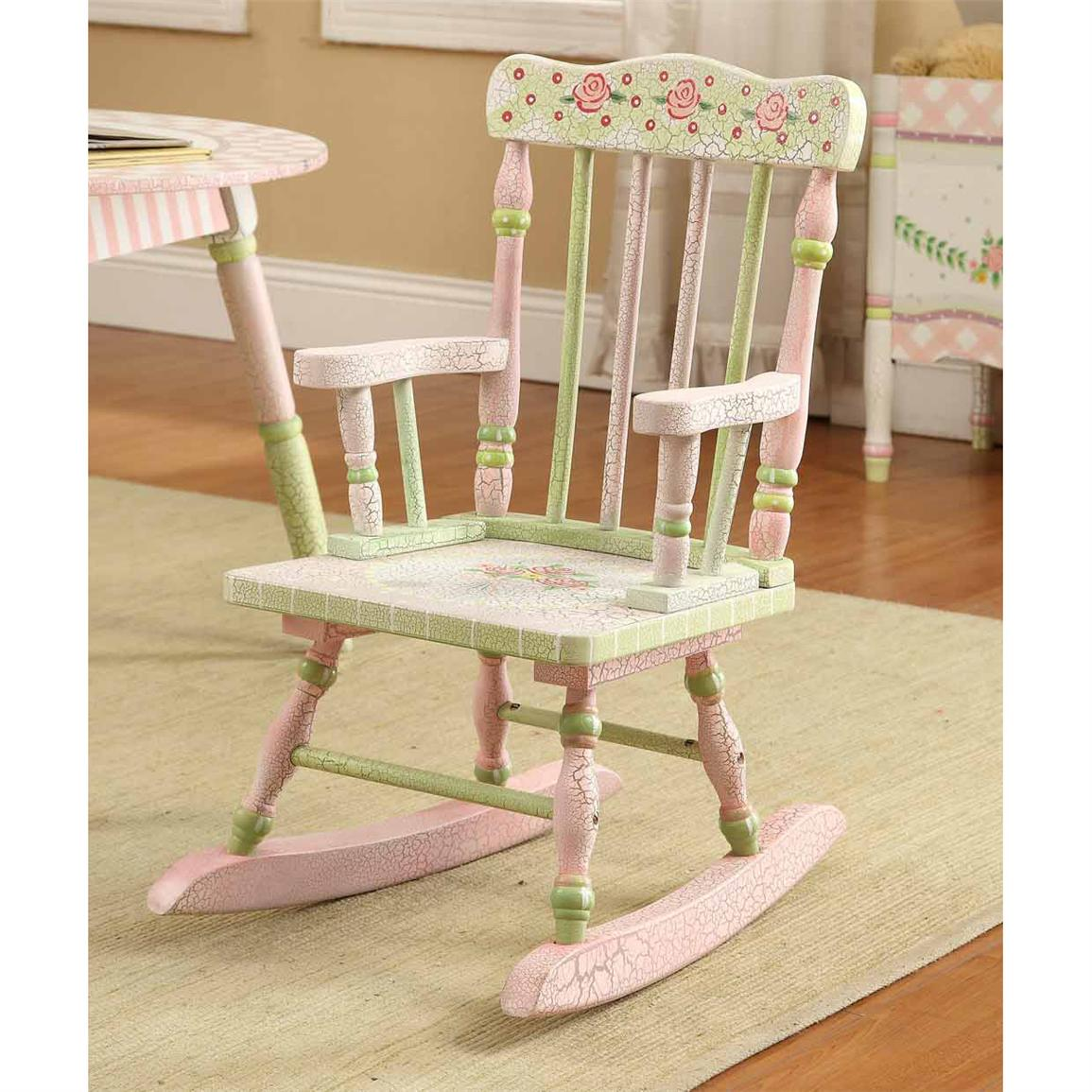 Image of: Popular Childrens Rocking Chair