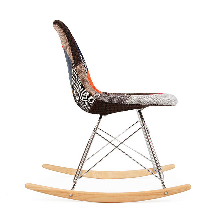 Image of: Popular Eames Rocking Chair