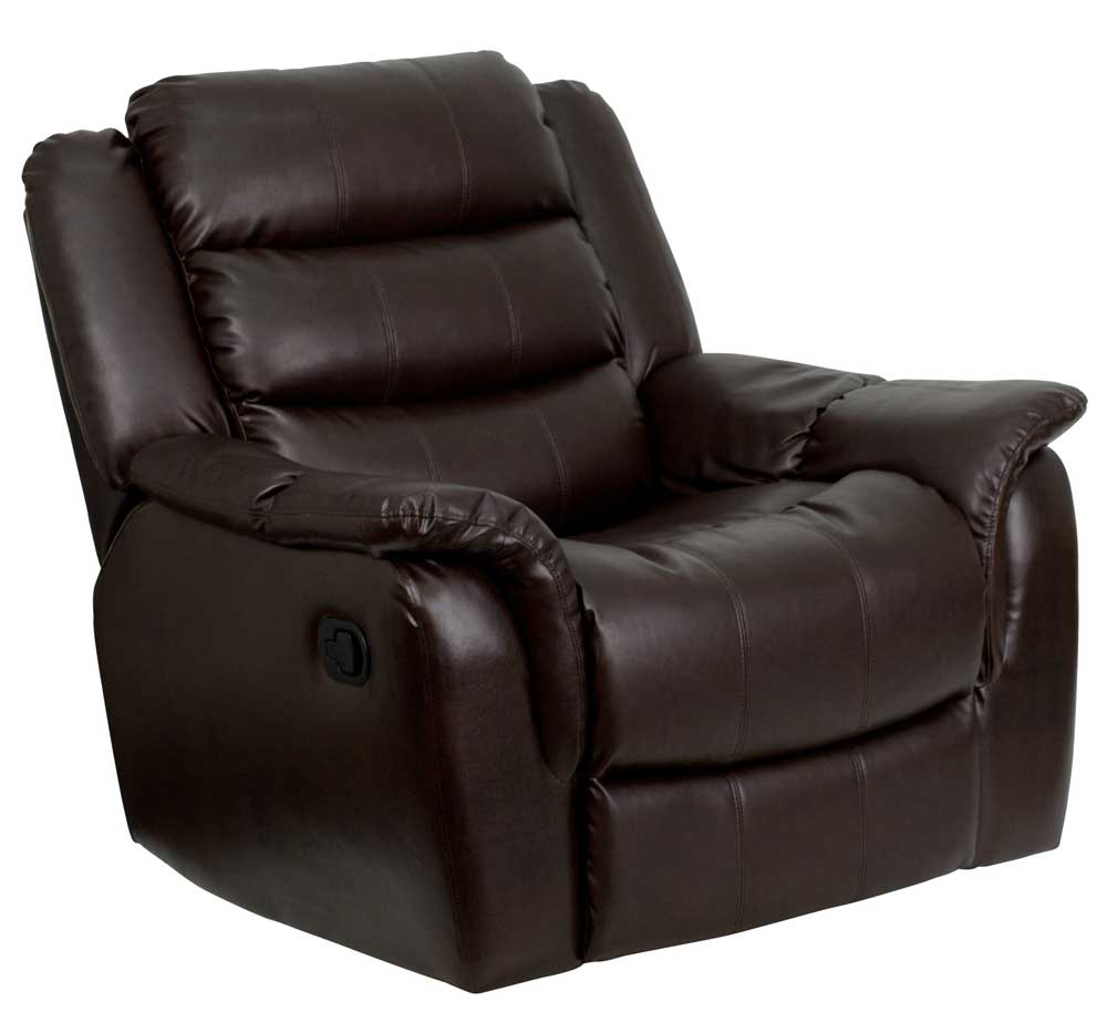 Image of: Popular Leather Recliner Chair