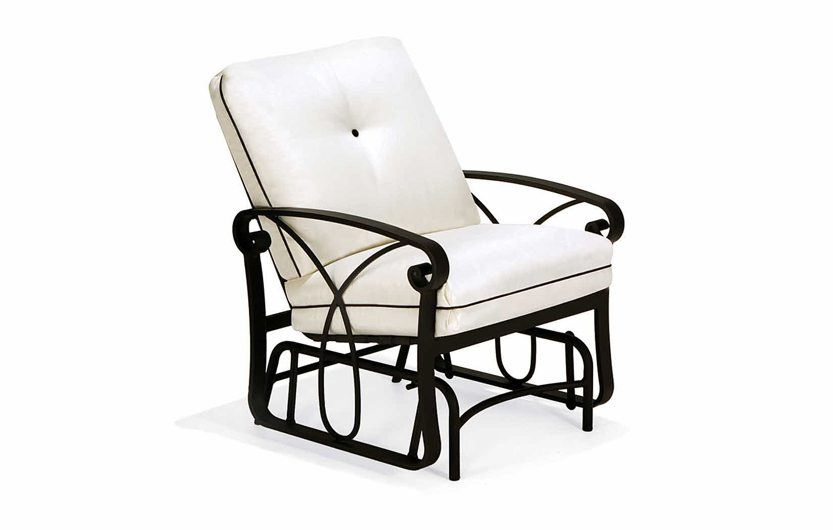 Image of: Popular Patio Glider Chair