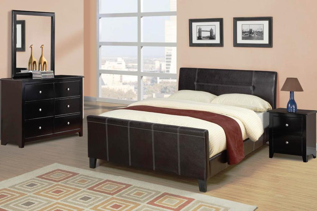 Image of: Queen Size Bed Frames With Headboard