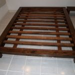 Queen bed frame picture