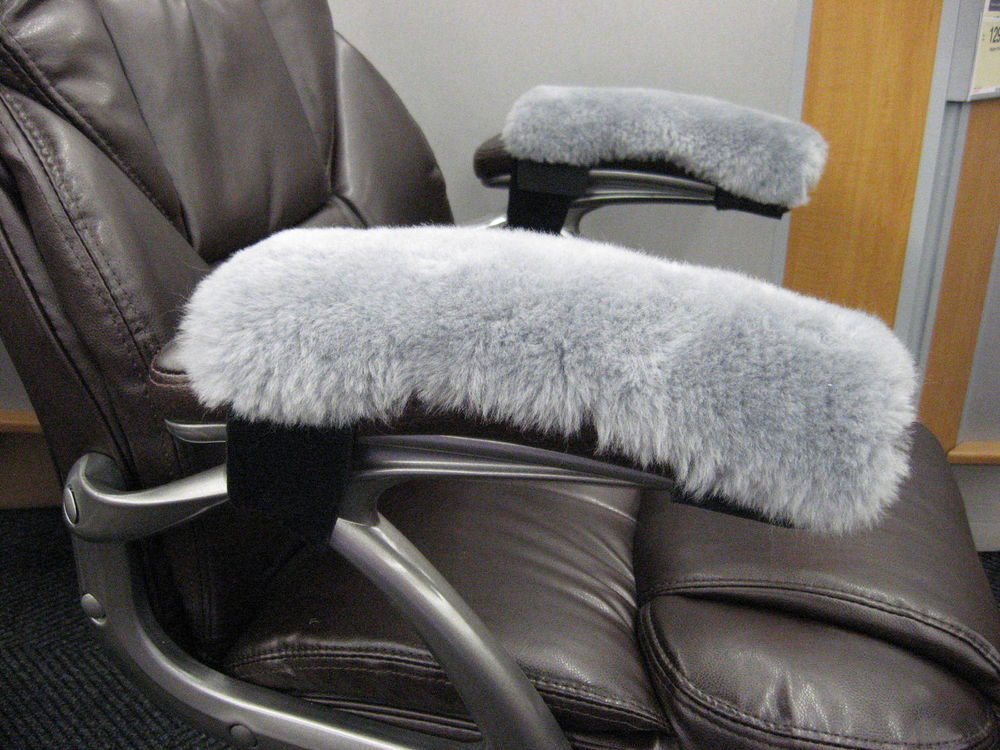Image of: Reclining Desk Chair Armrest Covers