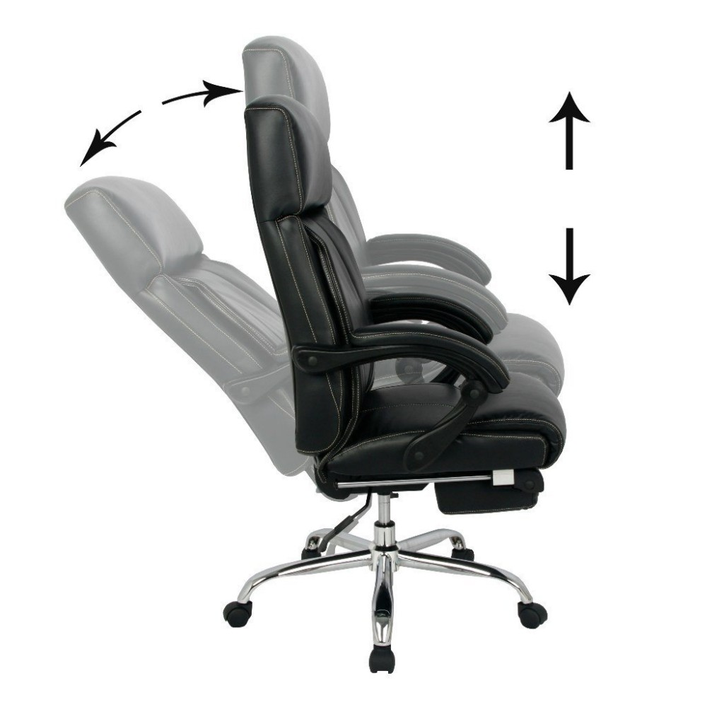 Image of: Reclining Desk Chair System