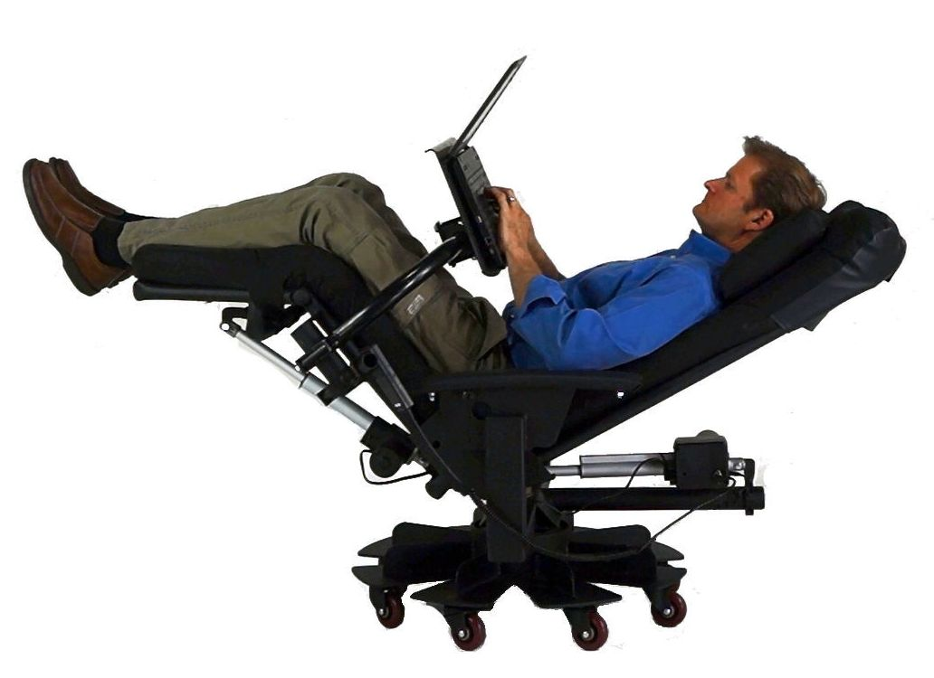 Image of: Reclining Desk Chair
