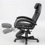 Reclining Office Chair With Footrest Design